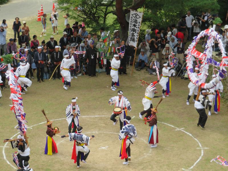 湯本南条踊り1