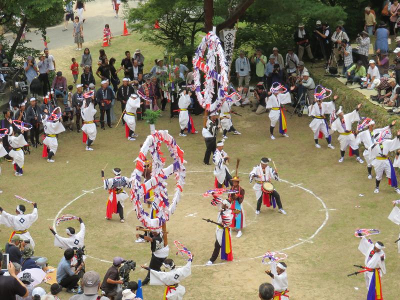 湯本南条踊り2